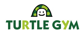 タートルジムのロゴ