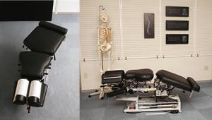 骨盤部屈曲および側屈機能