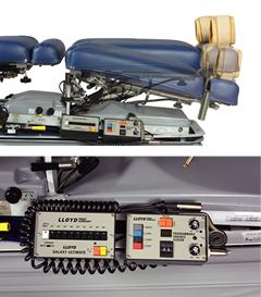 骨盤部自動屈曲機能